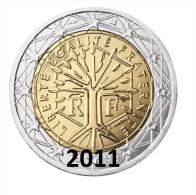 ** 2 EUROS FRANCE 2011 PIECE NEUVE ** - France