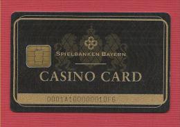 carte � puce carte de Casino card spielbanken Bayern Bavi�re Garmisch jackpot