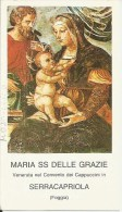 SANTINO MARIA SS. DELLE GRAZIE SERRACAPRIOLA (FG) - Santini