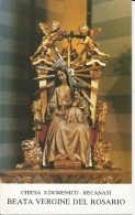SANTINO B.TA VERGINE DEL ROSARIO CHIESA . DOMENICO RECANATI - Imágenes Religiosas