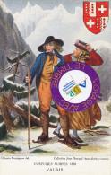 Valais   -  Costumes Suisses - 1830 - Autres