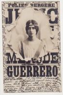 "FOLIE BERGERE -  CLEO DE MERODE GUERRERO DANS "" LORENZA ""  BALLET - Artistes"