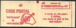 """1977/78 Francia, Libretto F.1,00 X 20 Rosso """"Sabine"""" Gomma Tropicale Nuovo,  Serie Completa Nuova (**) - Libretti"""