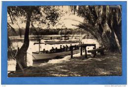 SWAZILAND-near Boat House Zambezi River -Touristes  -beau De Bateau D'excursion-années 20 - Swaziland