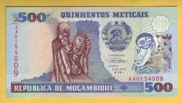 MOZAMBIQUE - Billet De 500 Meticais. 16-06-91.  Pick: 134. NEUF - Mozambique