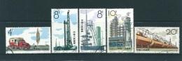 CHINE Timbres-Poste Oblitérés N°: 2216/20 SG - 1949 - ... République Populaire