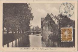 AK GLADBECK Haus Wittringen Museum 1930 - Gladbeck