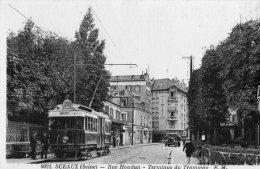 92 - SCEAUX - 9021 - Rue Houdan - Terminus Du Tramway - E.M. - Sceaux