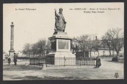 DF / 15 CANTAL / AURILLAC / STATUE DE GERBERT (SYLVESTRE II), PREMIER PAPE FRANÇAIS - Aurillac