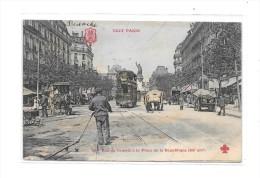 75 - PARIS  3 Ième Arrondissement : Rue Du Temple à La Place De La République - Paris (03)