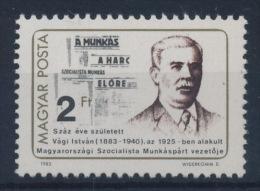 **Hungary 1983 Mi 3620 A Vagi MNH - Ungarn