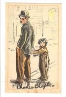 ILLUSTRATEUR - ORTH - CHARLES CHAPLIN - THE KID - 1923 - CINEMA - PUBLICITE - Illustrators & Photographers