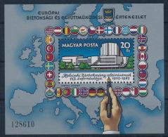 **Hungary 1985 Mi 3779 A Block 179A KSZE Helsinki MNH - Ungebraucht