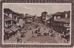 INDIA - BOMBAY - NATIVE QUARTERS, NULL BAZAAR - DATED 1916 - India