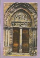 Dépt 78 - MANTES La Jolie - Eglise Notre-Dame -  Portail Latéral - Colorisée - Mantes La Jolie