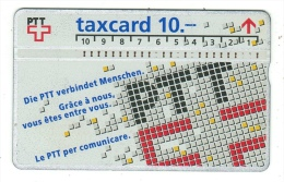 Taxcard-PTT - Suisse