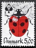 Denmark  1998  MiNr.1175 (O) Marienkäfer /ladybug /  Coccinelle ( Lot A90 ) - Usati