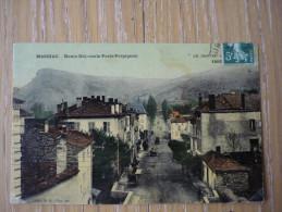 CPA MASSIAC -ROUTE NATIONALE PARIS -PERPIGNAN- - France