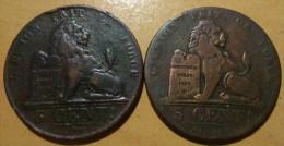 5 CENTIMES BELGE - 1831-1865: Léopold I
