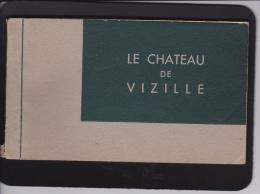 "CARNET  "" CHÂTEAU  DE  VIZILLE - Postcards"