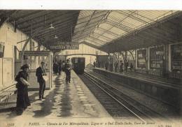 CPA ( METRO  B Paris 5e ) PARIS   Metropolitain Ligne N°2 Sud Etoile Italie  Gare De Sevres - Metro