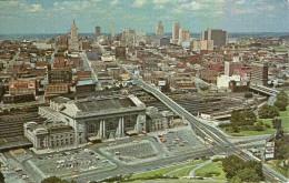 H10 / CPSM 1967 KANSAS CITY   VOYAGE VOIR DOS TIMBRE KENNEDY - Kansas City – Kansas