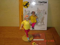 EDITION MOULINSART   PEGGY ALCAZAR LA TIGRESSE DANS TINTIN ET LES PICAROS - Tintin
