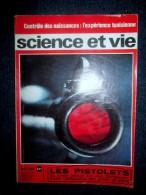 La SCIENCE & La VIE #582 Mars 1966 Automobile Auto Record Vitesse Dragster Car / Medecine Contraception Vaccin / Curie ! - Ciencia