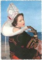 """Dépt 29 - ROSPORDEN - Coiffe De Rosporden - (Nicole, Elle A Fait Partie Du Groupe Folklorique """"les Bretons De Nanterre"""") - France"""
