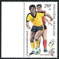 POLYNESIE 1982 - Yv. PA 168 ** TB Bdf  Faciale= 2,10 EUR - Coupe Du Monde De Football ESPANA´82 ..Réf.POL22060 - Poste Aérienne