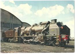 """TRAIN France -  Locomotive à Vapeur - Locomotive """"Pacific-Chapelon"""" N° 3.1192 NORD (1936) - Photo SNCF - Trains"""