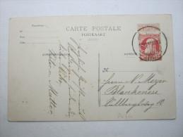 1907 , Anvers    Firmenlochung , Perfin , Beleg - Lochung