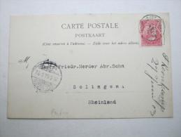 1903 , Anvers    Firmenlochung , Perfin , Beleg - Lochung