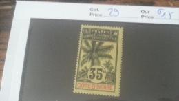 LOT 237518 TIMBRE DE COLONIE COTE IVOIRE NEUF* N�29 VALEUR 15 EUROS