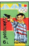L - 1992 Romania - Olimpiadi Di Barcellona - Tiro (armi)