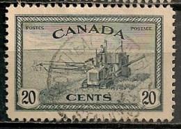 Timbres - Amérique - Canada - 1946 - 20 Cents  -