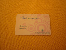 Greece - Loutraki Casino magnetic slot card