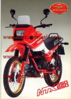 Moto Guzzi NTX 350 650 1990 Enduro Depliant Originale Genuine Factory Sales Brochure Catalog Prospekt - Motos