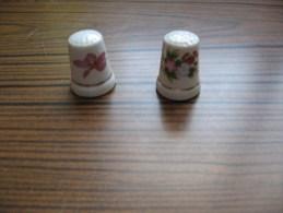 Lot De Deux Dés                             Yves Rocher - Miniatures Décoratives