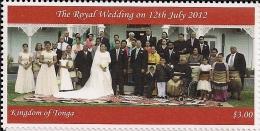 ton121501 Tonga 2012 Royal Wedding 1v Scott: 1194