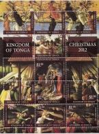 ton1214s1 Tonga 2012 Christmas s/s Scott: 1193