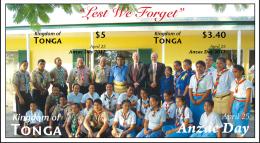 ton1207s1Tonga 2012 Anzac Day Scout Perf s/s Scott: 1184