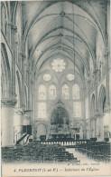 Pleurtuit (I&V) Intérieur De L'église - Version Inédite - France