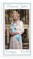 ton120101 Tonga 2012 Diamond Jubilee of Queen Elizabeth II Scott: 1171