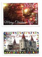 ton110101 Tonga 2011 Christmas 2 v Scott: 1157