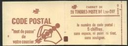 """1977/78 Francia, Libretto F.1,20 X 20 """"Sabine"""" Gomma Tropicale Nuovo,  Serie Completa Nuova (**) - Libretti"""