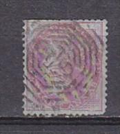 INDE ANGLAISE - N°Y&T - 8 - 8 A Rose S/ Azuré - Victoria  - Oblit - Inde (...-1947)