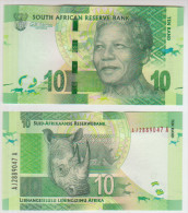 South Africa 10 Rain 2012 Pick NEW UNC - Zuid-Afrika