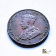 Hong Kong - 1 Cent - 1931 - Hongkong
