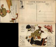 CARTE A SYSTEME - MILITARIA - Soldat - Caserne - - A Systèmes